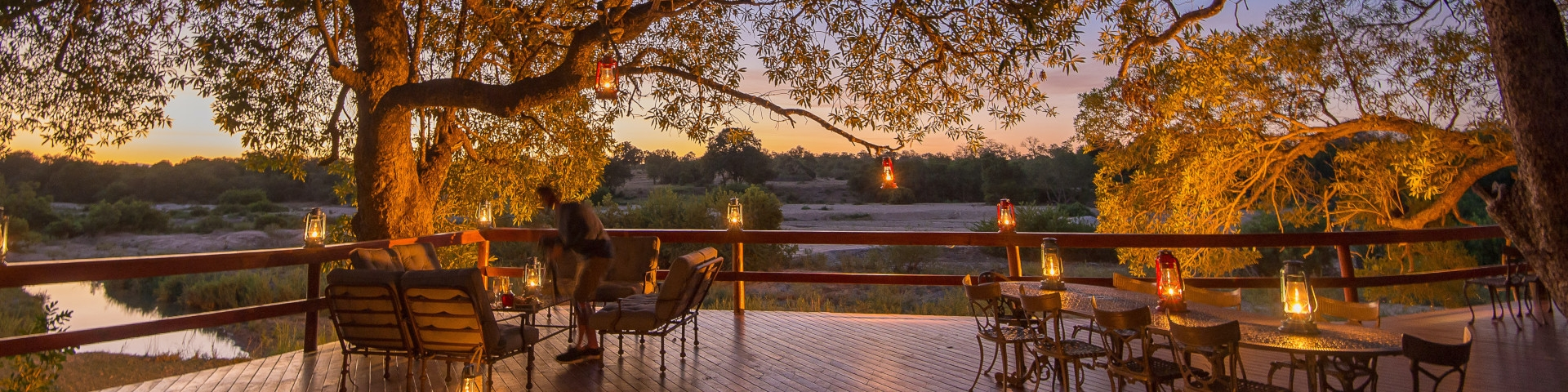 Inyati Private Game Lodge - Sabi Sand Game Reserve - South Africa - Deck with a view