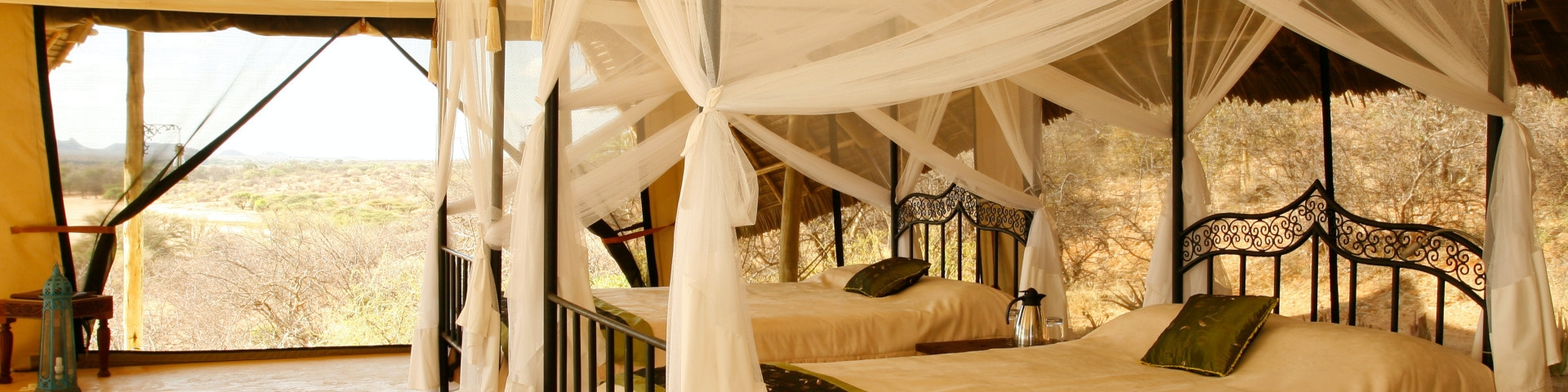 Accommodation in Samburu National Reserve Twin Room with a View