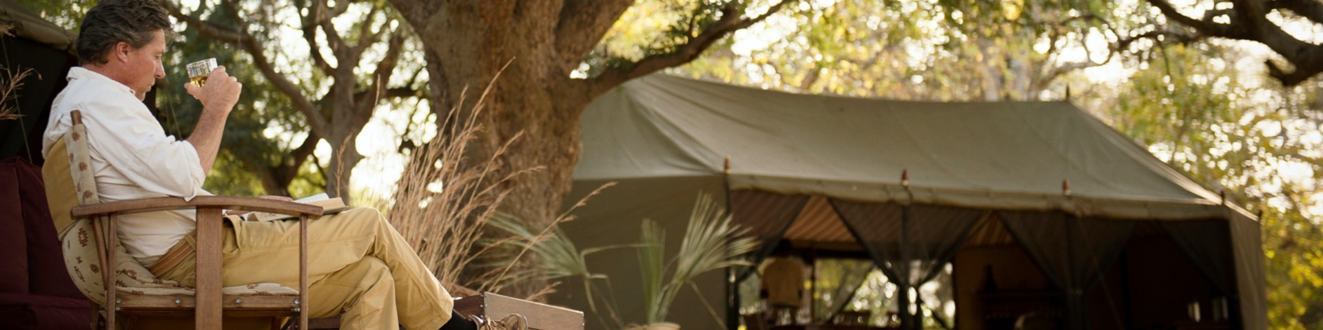 Accommodation in Tanzania Katavi National Park Chada Katavi Tented Camp