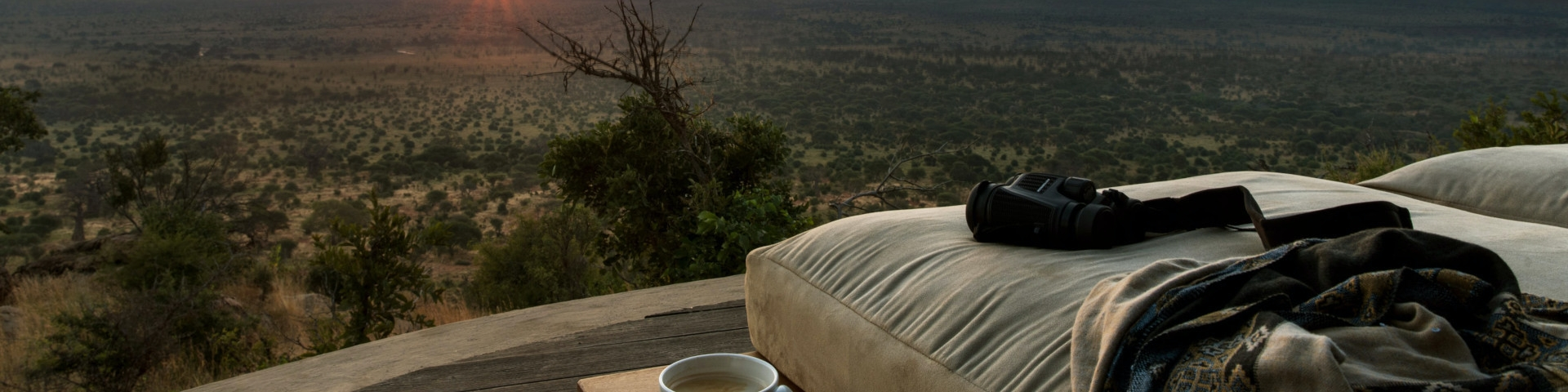 Accommodation in Tarangire National Park Tanzania View over Plains