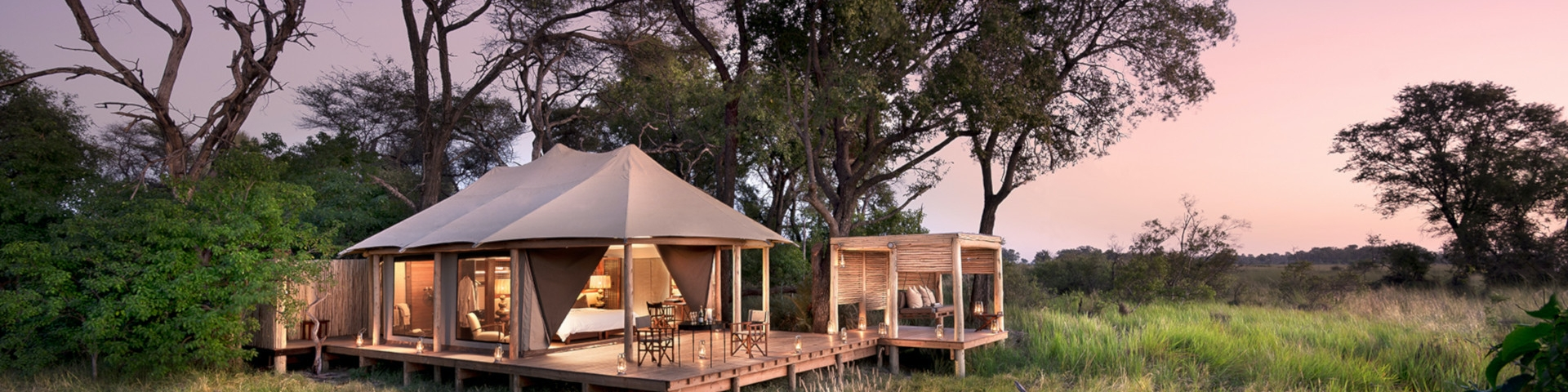 Accommodation - Nxabega Okavango Tented Camp Botswana