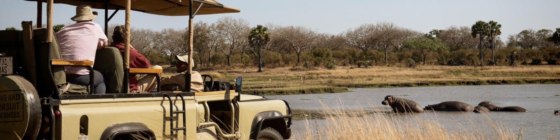 Tours and Safaris to Tanzania Katavi National Park Game Drive
