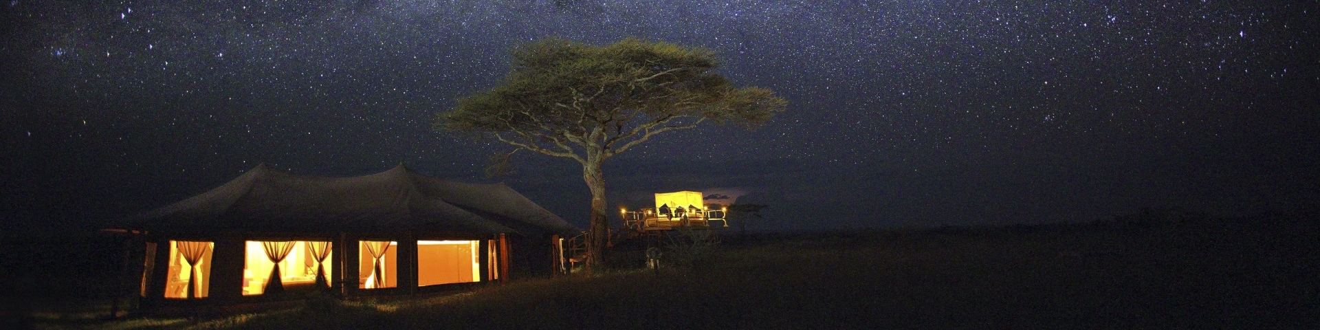 Ehlane Plains Camp Serengeti Tanzania Tented accommodation Banner