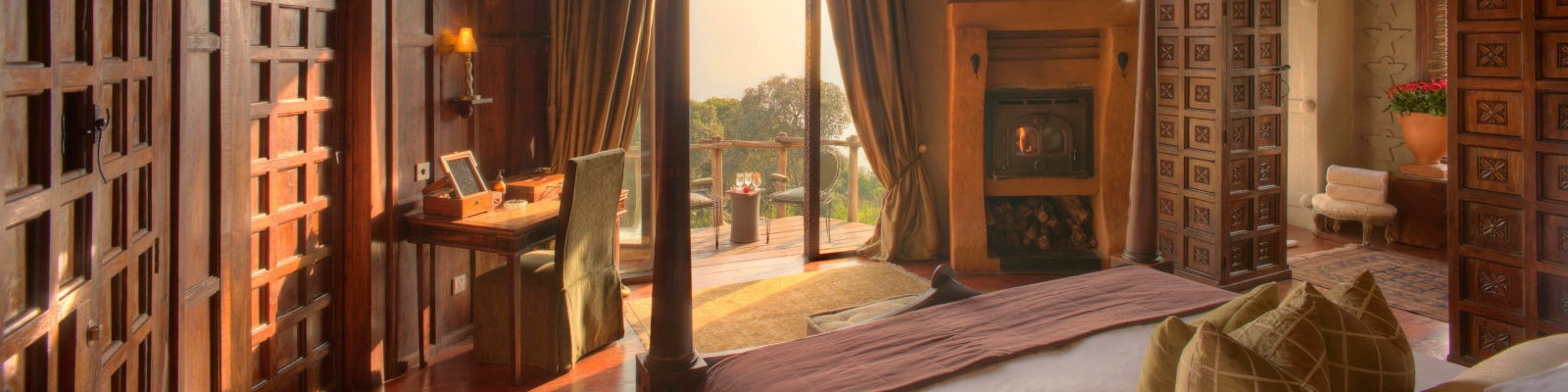 Accommodation in Ngorongoro Crater Region Tanzania Bedroom