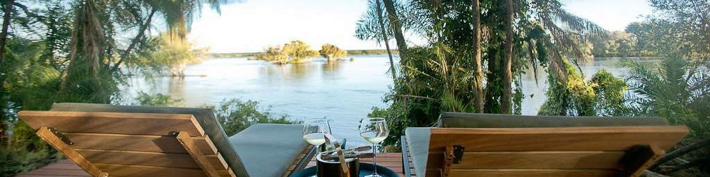 Thorntree River Lodge Drinks On Deck, Zambia