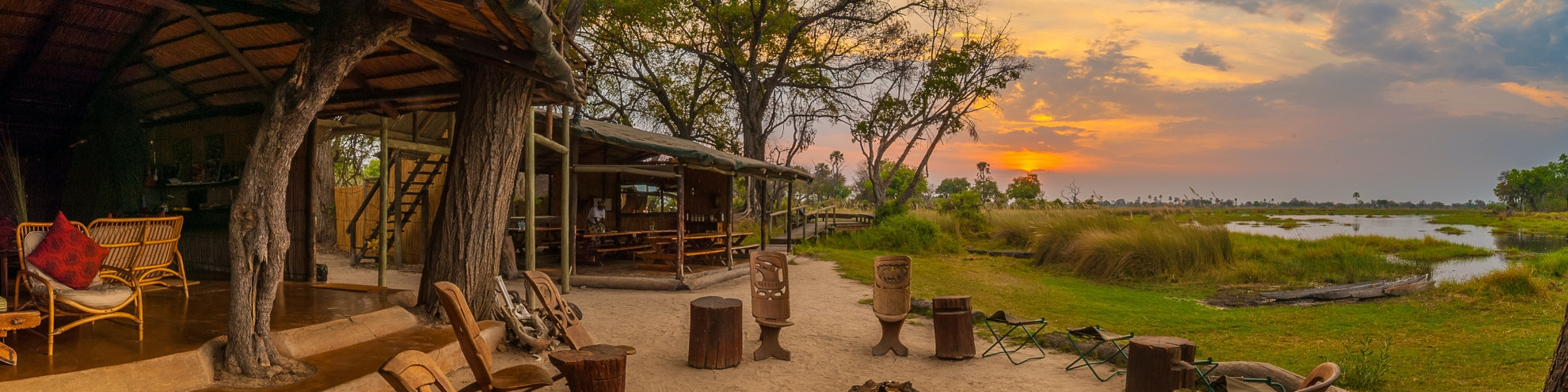 Accommodation in Moremi Game Reserve - Botswana