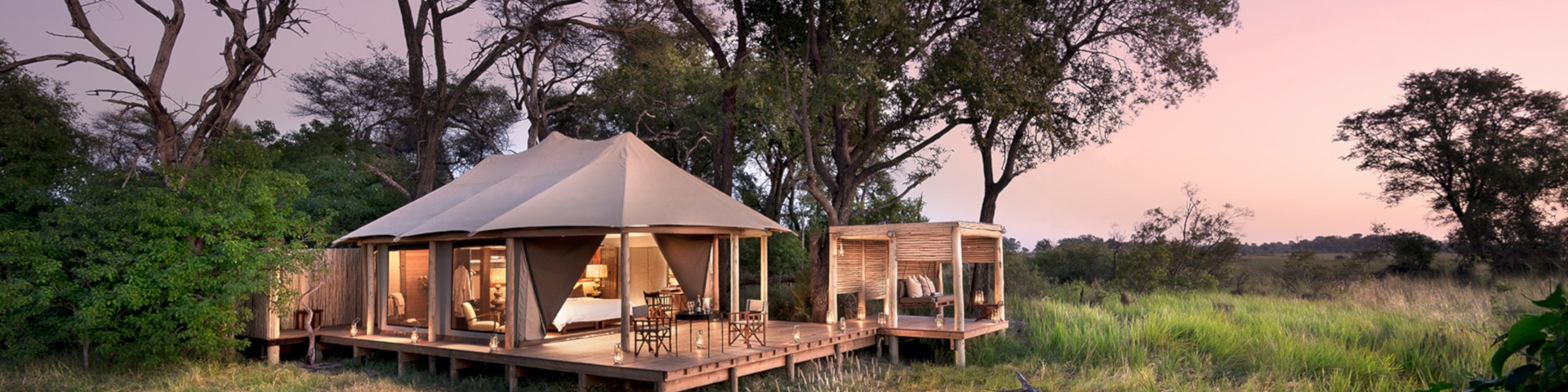 Accommodation in Okavango Delta - Botswana