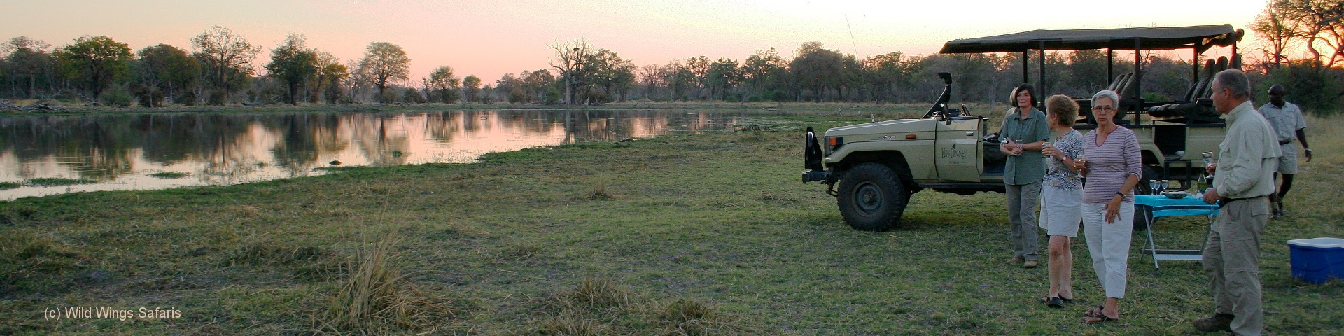 Botswana Safari Sundowners