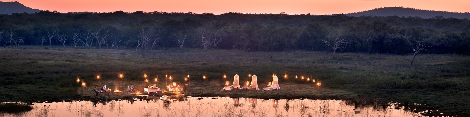 Phinda Private Game Reserve, sleep out under the stars banner